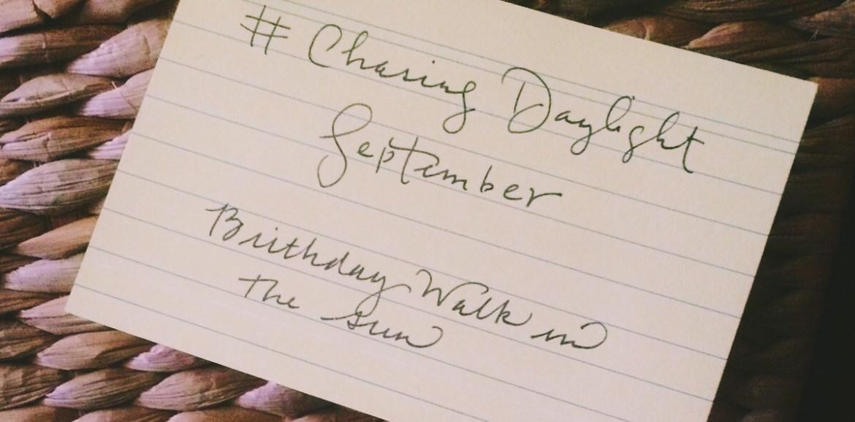 Chasing Daylight September, Chino House
