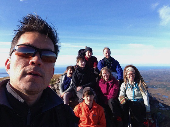 Suilvan, Scotland, Hillwalking, Northwest Highlands