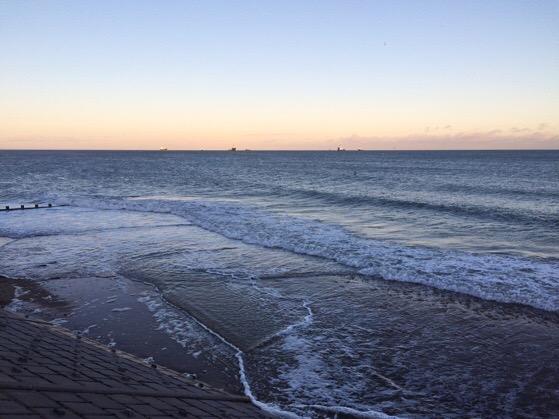 Aberdeen Beach, Scotland, Chasing Daylight