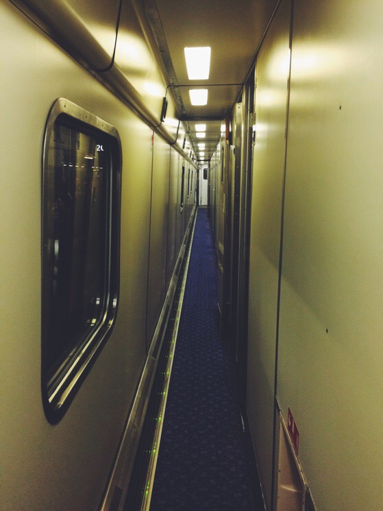 Caledonian Sleeper Train, London to Scotland, Aviemore