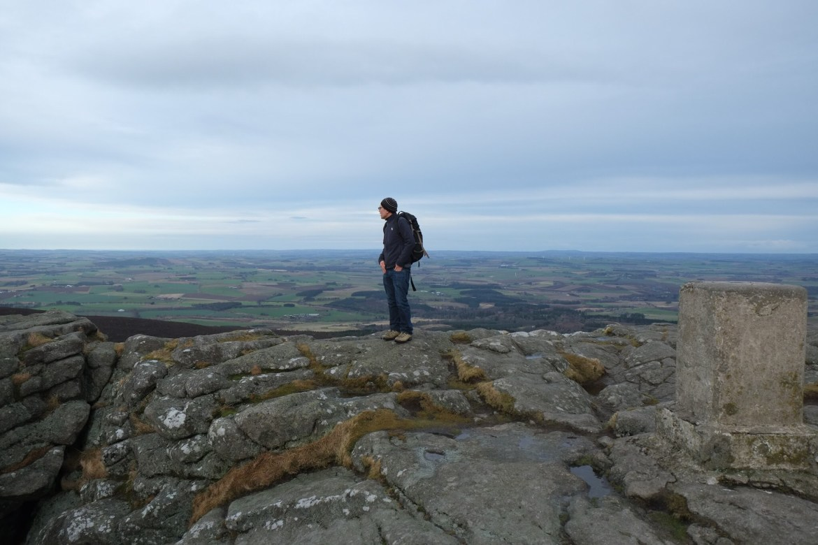 Bennachie, Scotland, Mither Tap, Hiking