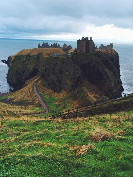 Christmas, Scotland, Stonehaven, Dunnottar
