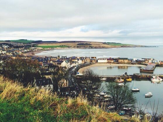 Christmas, Scotland, Stonehaven