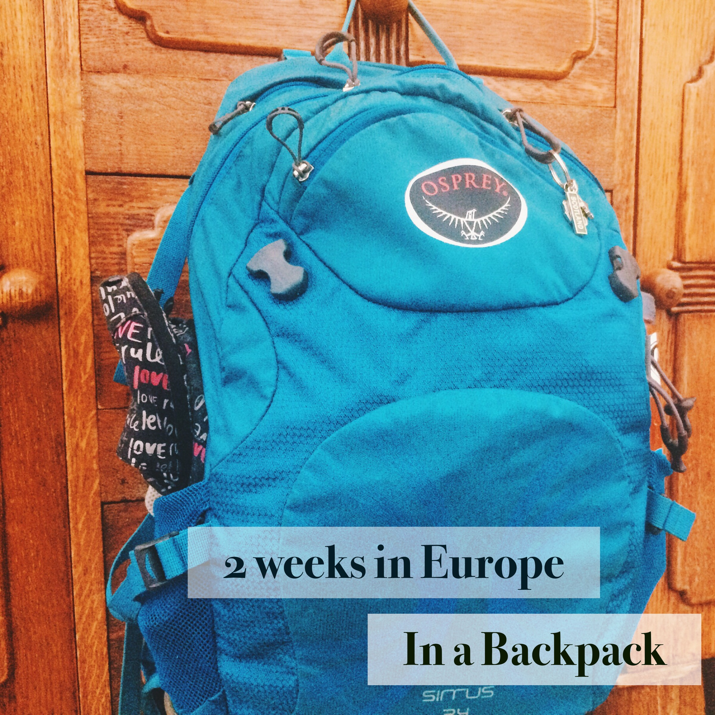 Packing Light, AlisonChino.com, Europe, UK, Travel