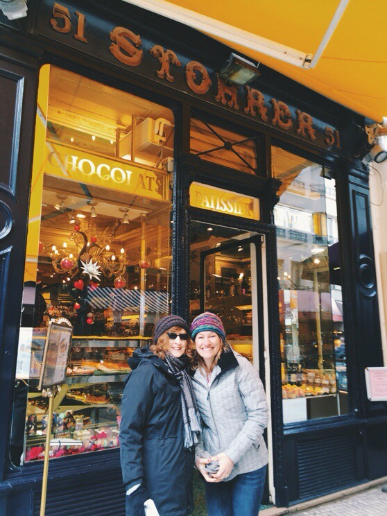Snapshots of Paris, Stohrer Patisserie, Almond Croissant, Paris in WInter, Rue Montorgueil