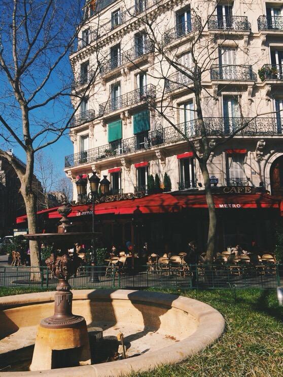 Snapshots of Paris, Paris in Winter