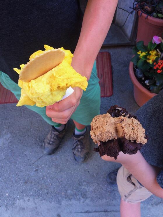 Vernazza, Italy, Cinque Terre, AlisonChino.com, gelato