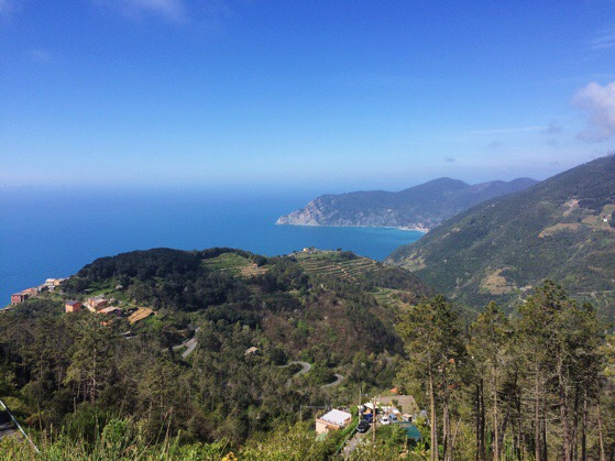 Hiking in the Cinque Terre, Manarola to Vernazza via Old #1, Volastra, AlisonChino.com