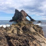 A Sunny Spring Walk to Bow Fiddle Rock from Cullen, Scotland