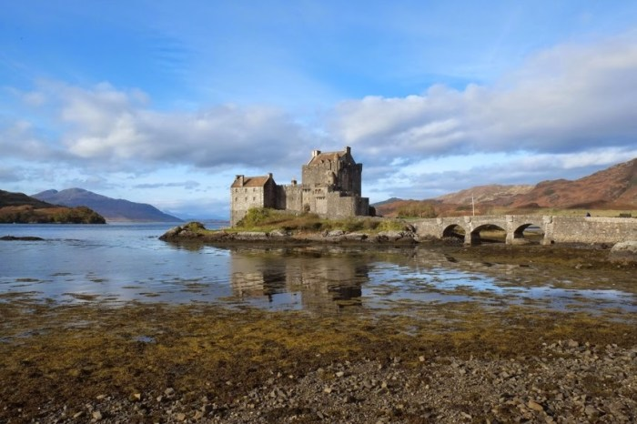 Aberdeen, Scotland, Eilean Donan Castle