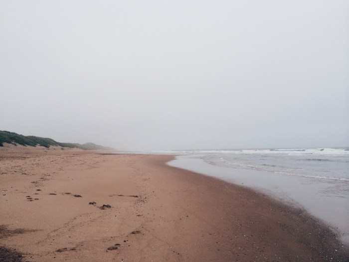 Balmedie Beach, Sand Dunes, Misty Sea, North Sea, Scotland
