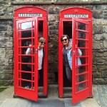 Visiting Edinburgh: Red Phone Booths