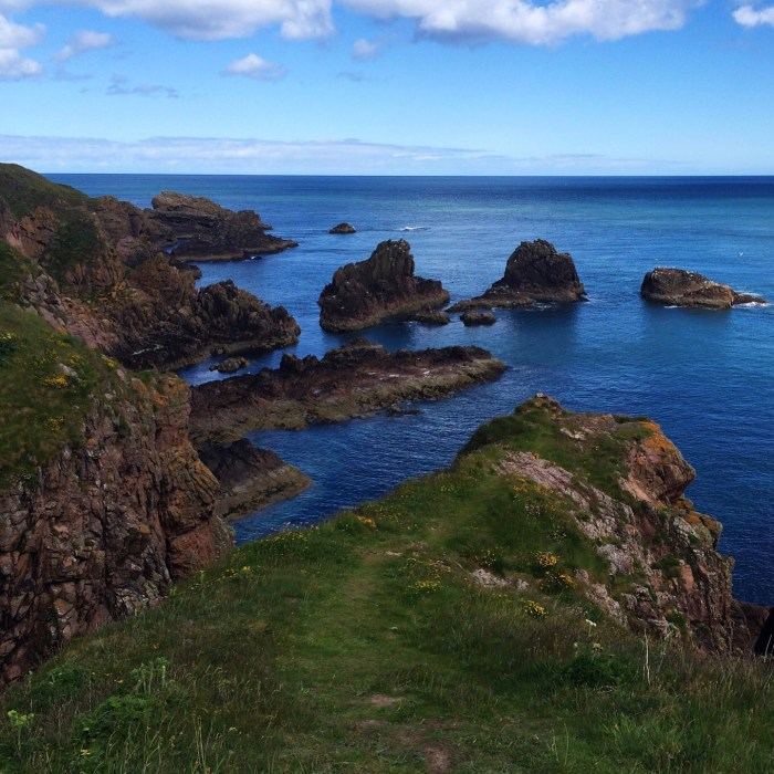 Cruden Bay, June, Scotland, Scottish Coastal Trails, Aberdeen