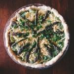 Asparagus, Potato and Ricotta Pie