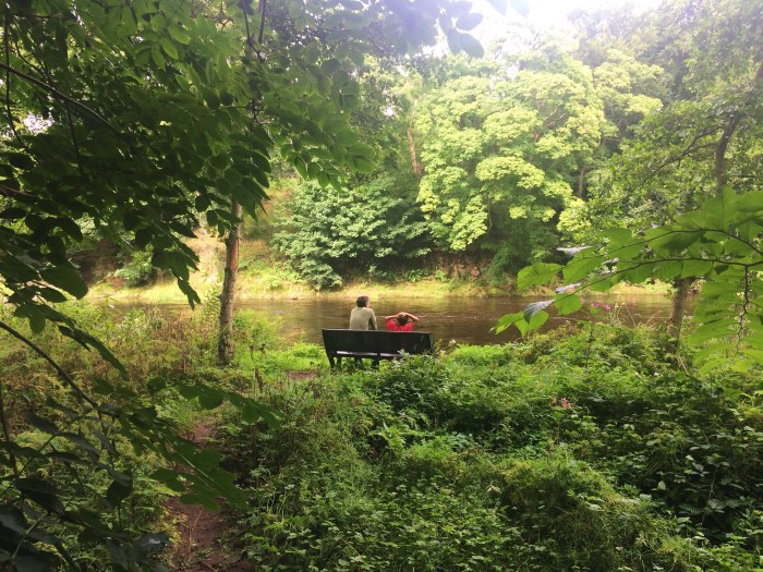Persley Walled Garden, River Don, Aberdeen, Scotland