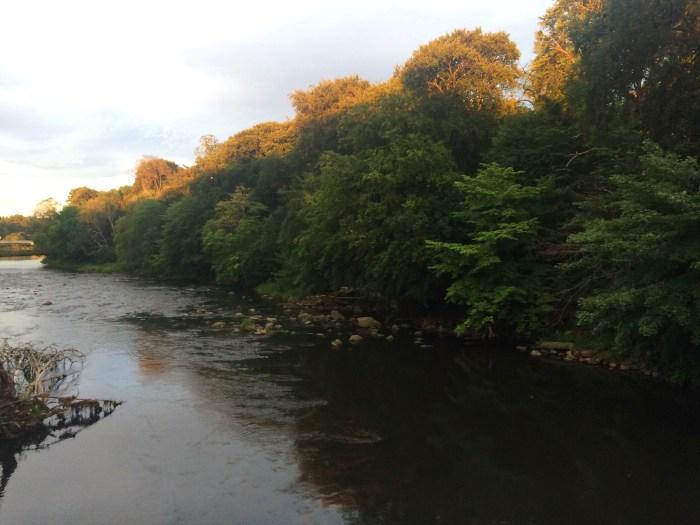Persley Walled Garden Walk, River Don, Aberdeen, Scotland