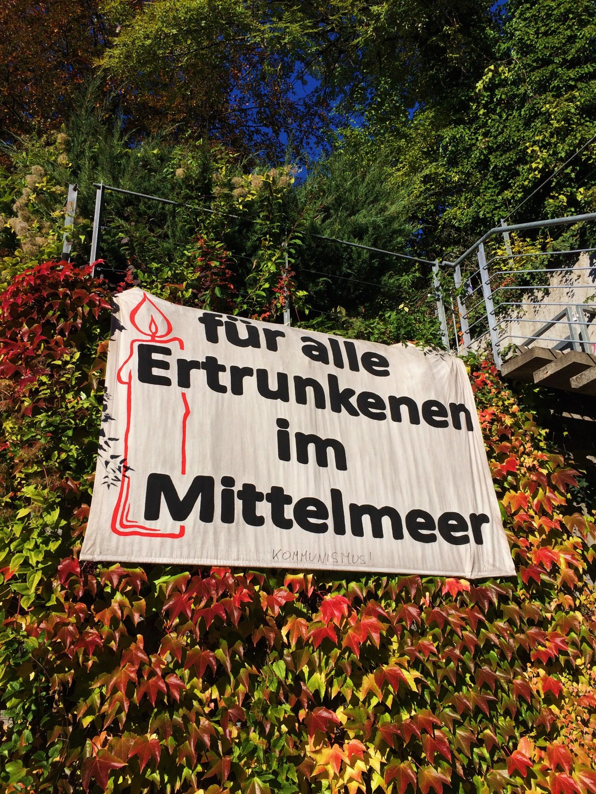 For all who drowned in the Mediterranean, fur-alle-ertrunkenen-im-mittelmeer