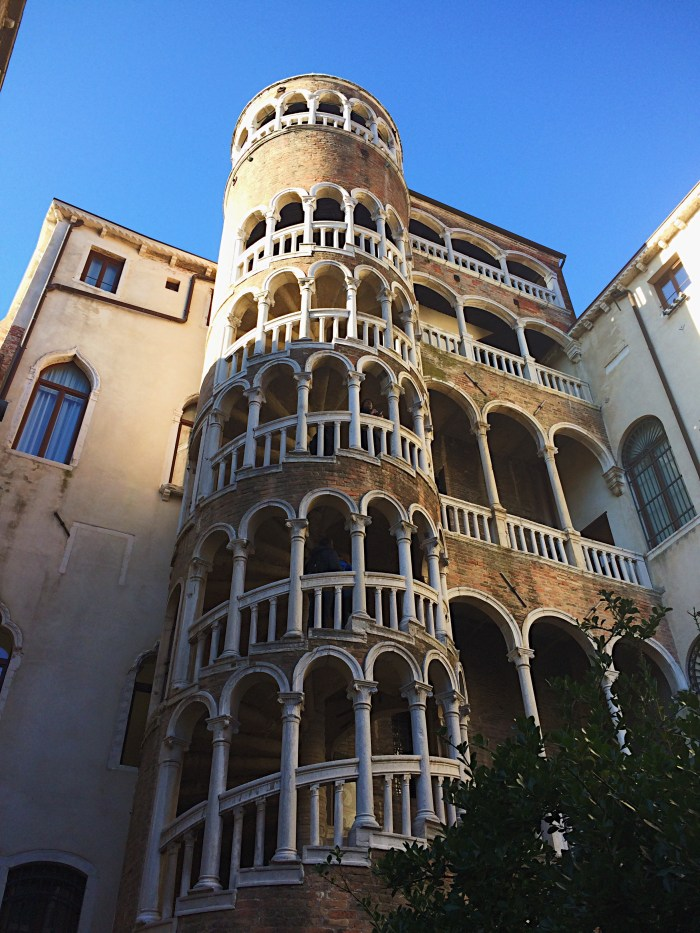 Venice, Italy, Christmas, Spiral Stairs
