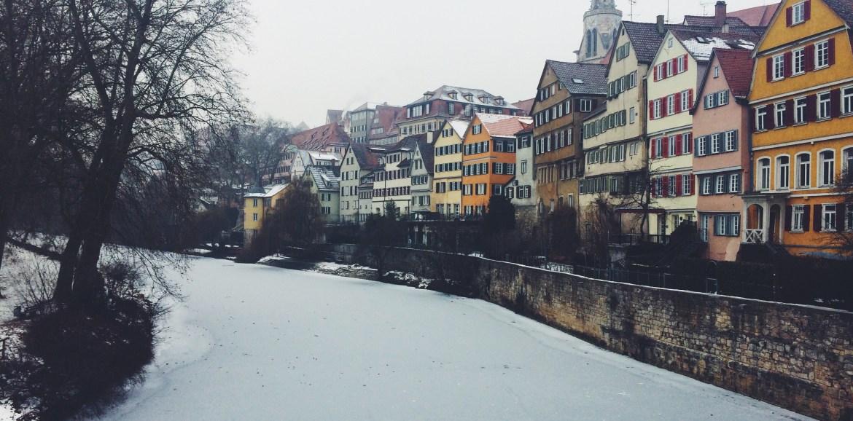 Winter in Tübingen, Winter in Germany