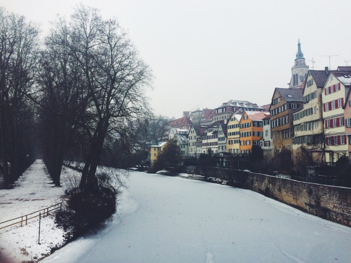 Winter in Tübingen, Winter in Germany