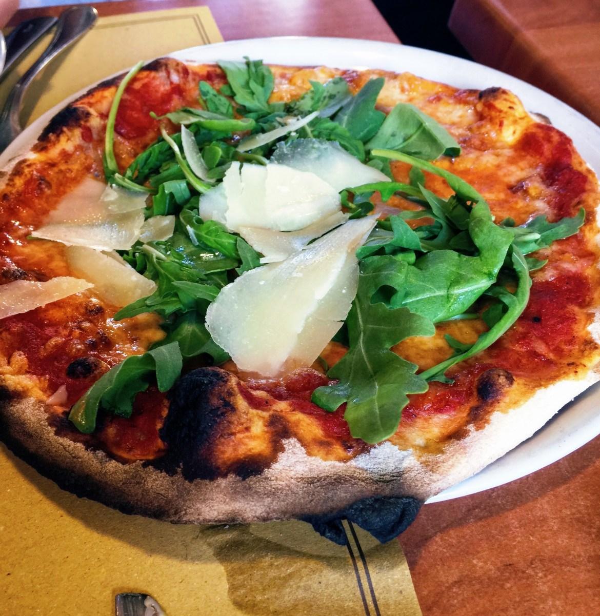 Rome Blogging Pizza