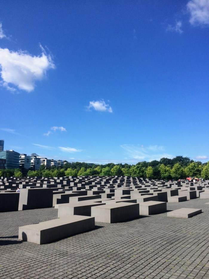 Snapshots of Berlin Holocaust Memorial