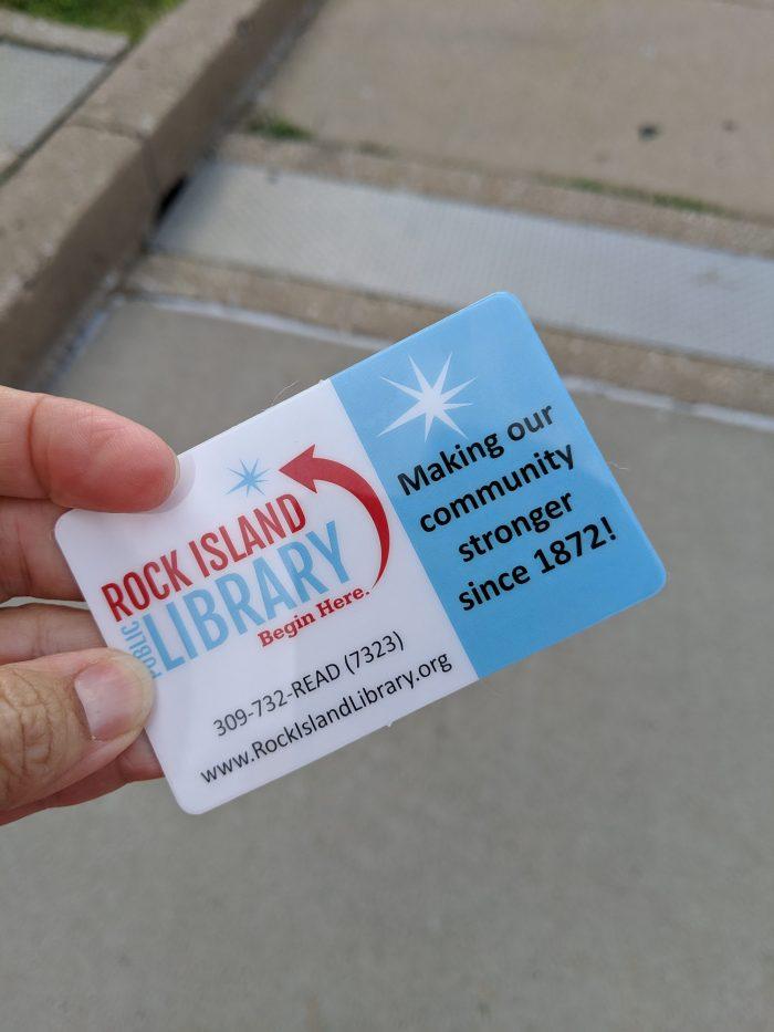 Rock Island Library Card