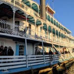 Snapshots of A Riverboat Cruise: A Ride on the Mississippi River