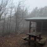 Notes from The Ouachita Trail: Walking in the Rain