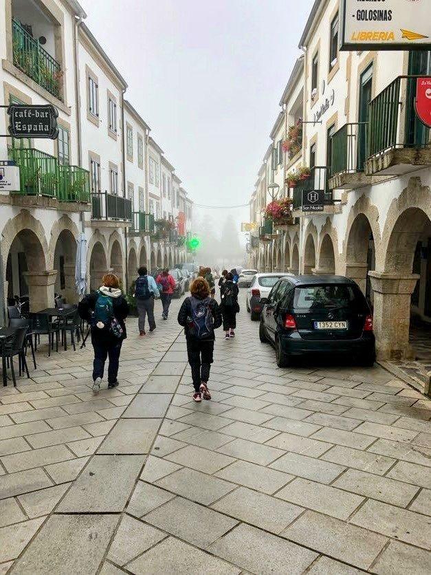 Portomarin to Ligonde