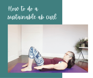 How to do ab curls without neck pain