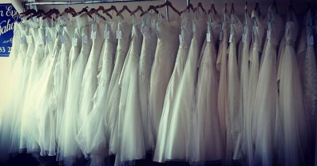 So many wedding dresses to choose from