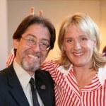 Alison Larkin with Adam Pertman