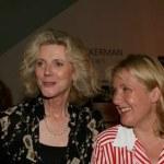 Alison Larkin with Blythe Danner