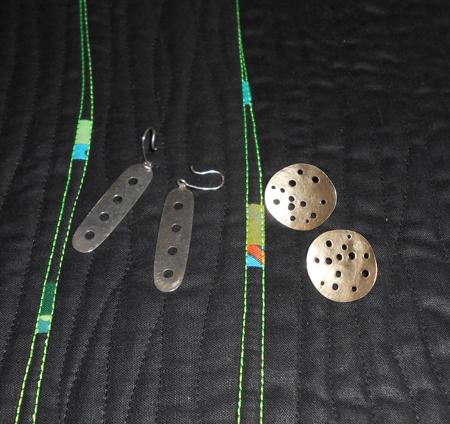 holes earings web