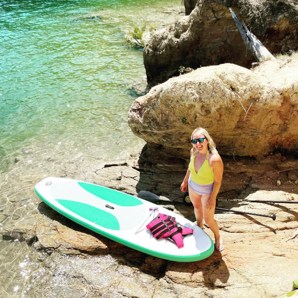 My New paddle board