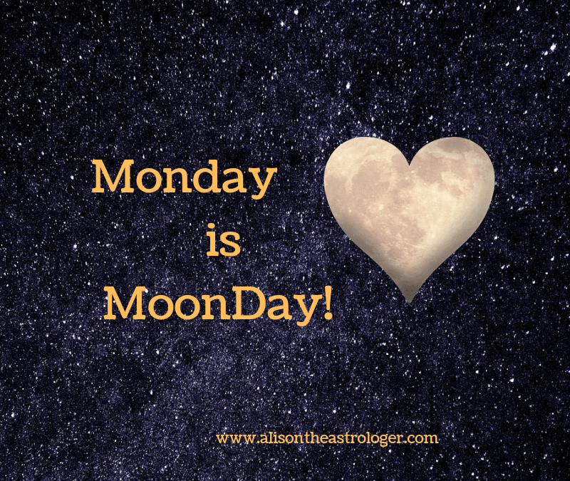 Monday Moonday a beautiful