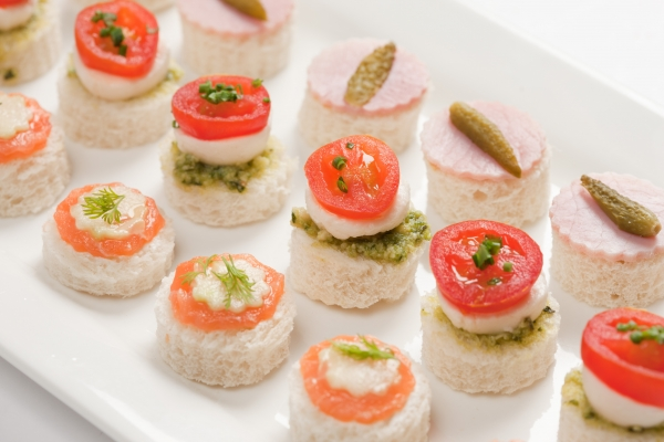 Mixed Canapes Alistair Hugo London Caterers London