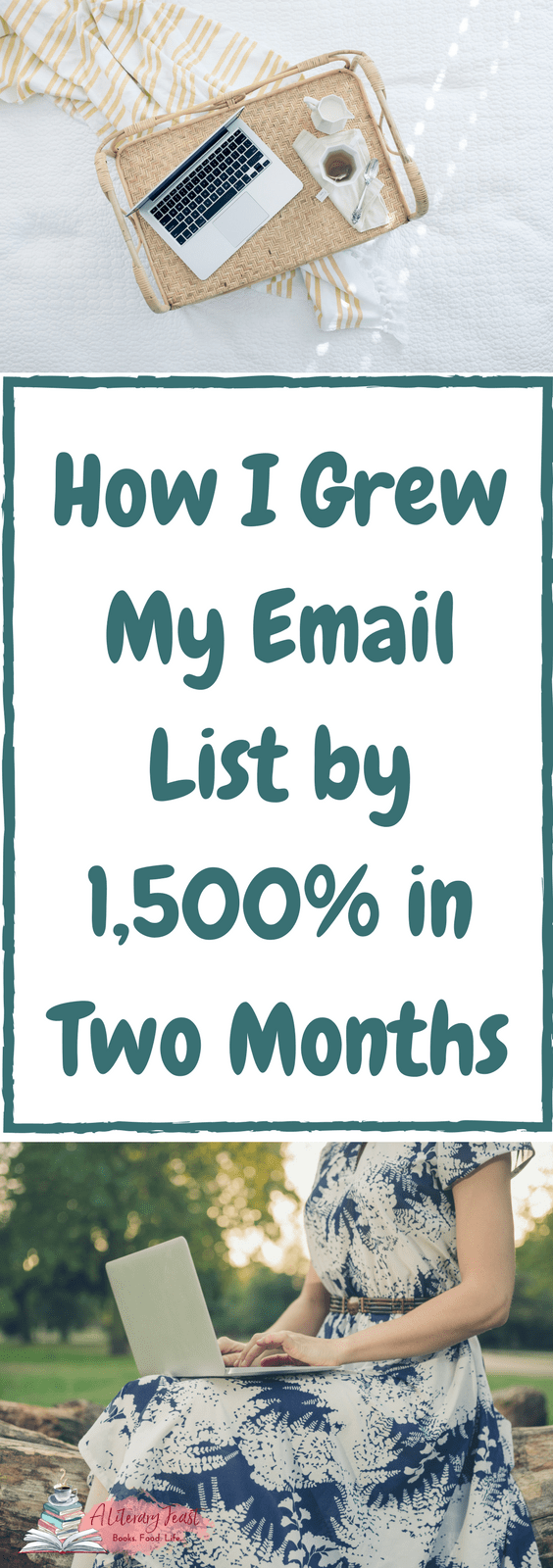 A Literary Feast   small business   blogging   marketing    UpViral   how to grow your email list
