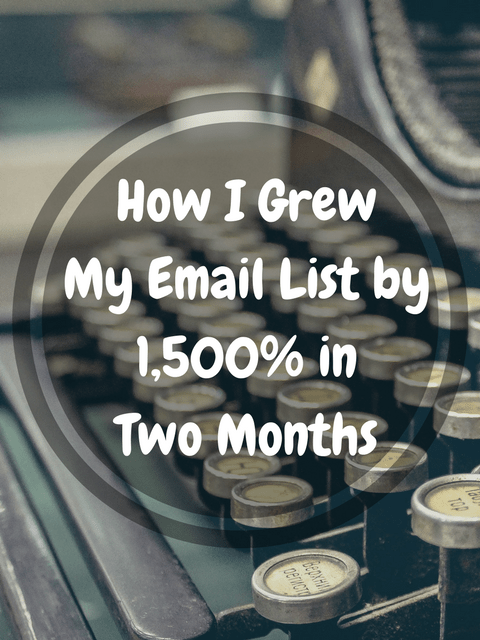 A Literary Feast | small business | blogging | marketing | UpViral | how to grow your email list