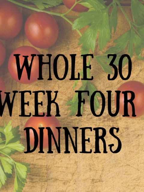 A Literary Feast | Whole 30 | weekly meal plan | meal prep | healthy eating