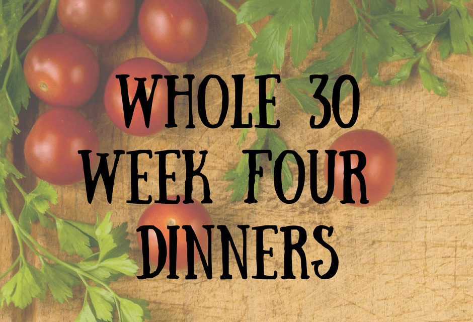 A Literary Feast   Whole 30   weekly meal plan   meal prep   healthy eating