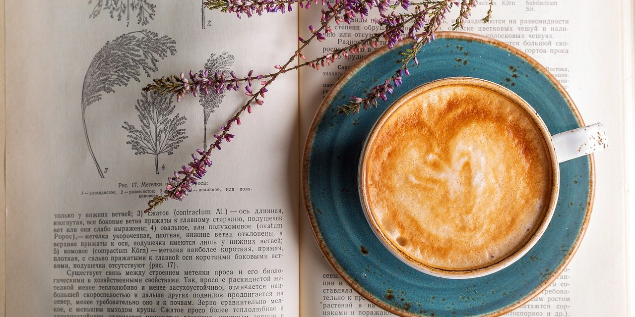 National Coffee Day: Coffee + Books = Life