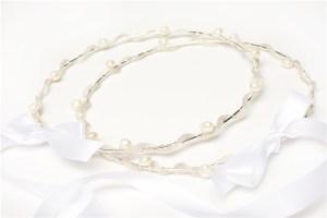 Thalassa Silver Wedding Crowns Stefana
