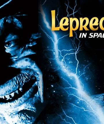 leprechaun 4 in space poster