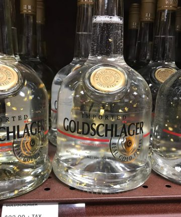 goldschlager bottles