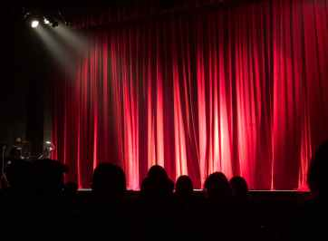 stand-up comedy stage