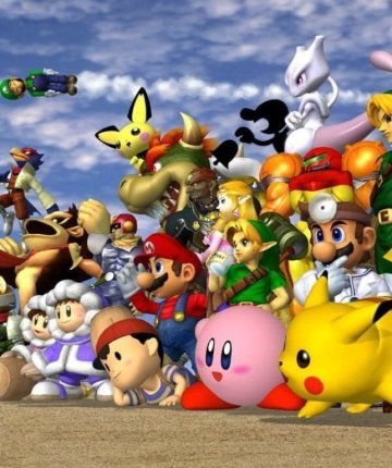 super smash bros melee characters