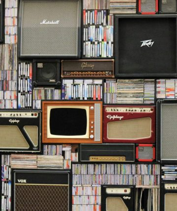 speakers and records