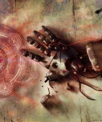 Dark Anime full metal alchemist